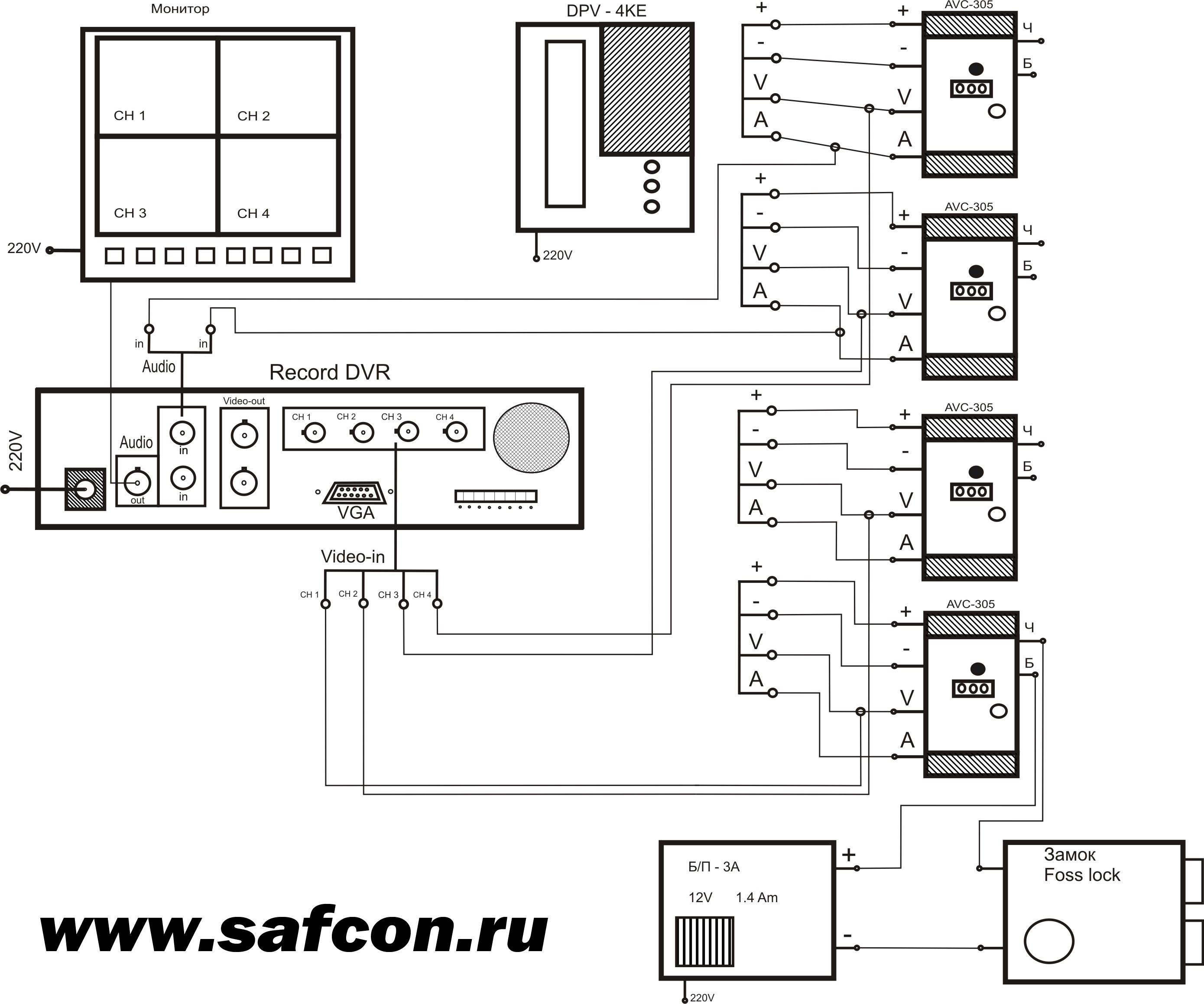 Схема блока питания домофона gardi nota