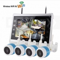 Wirelless NVR KIT 4CH Wi-Fi Cloud