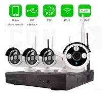 Wirelless NVR KIT 4CH Wi-Fi Cloud-2